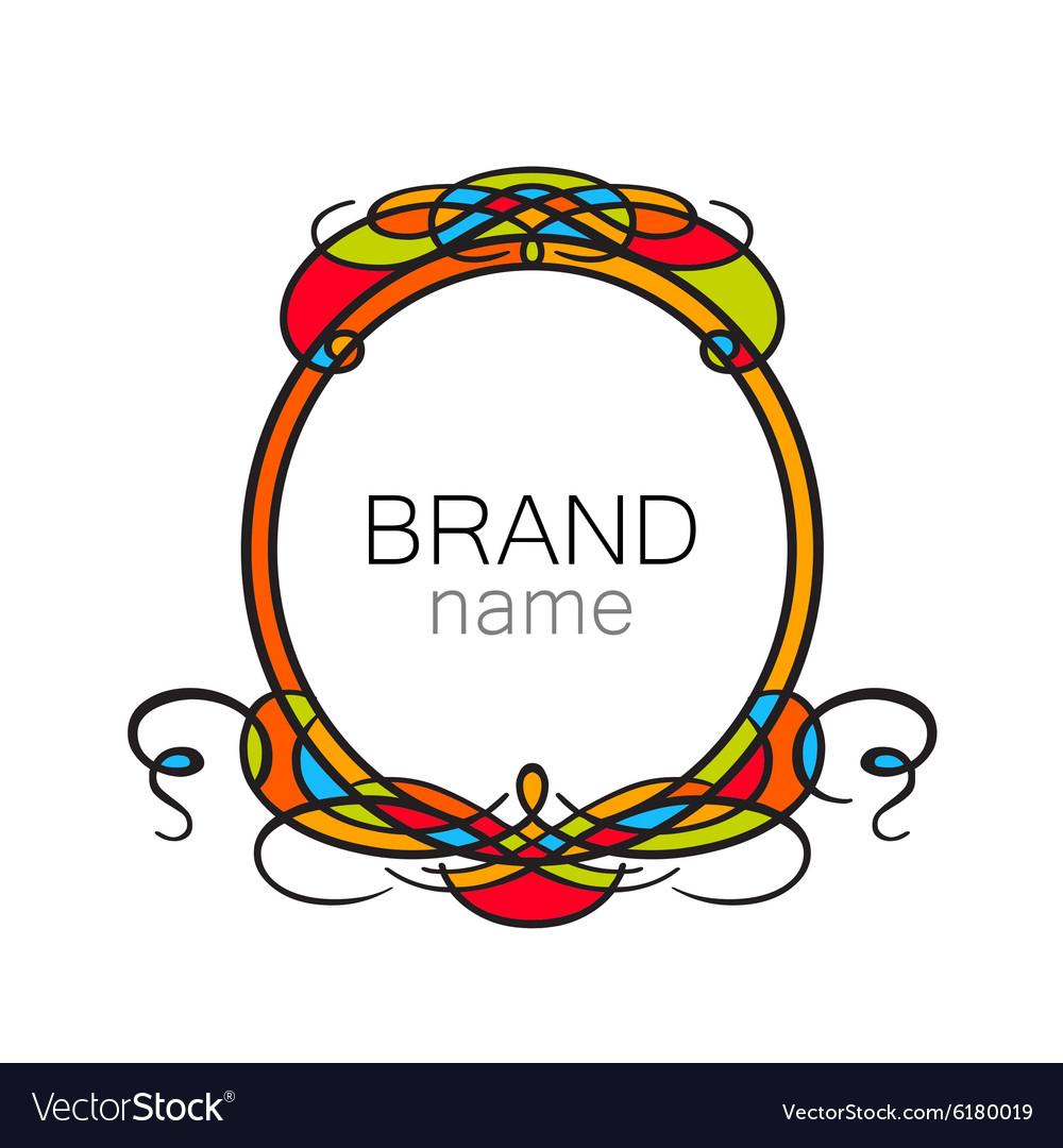 Logo frame
