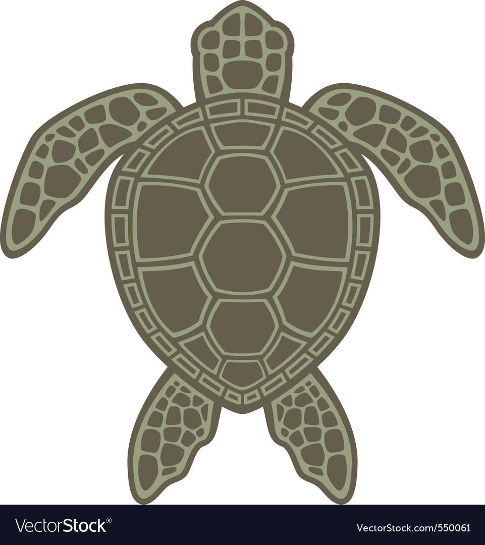 Sea turtle icon stock vector Illustration of turtle