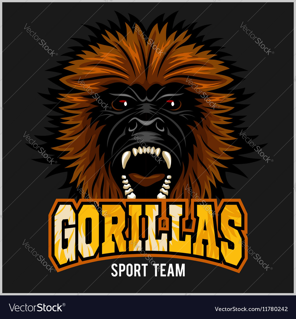 Gorilla Free Vector Art  3828 Free Downloads