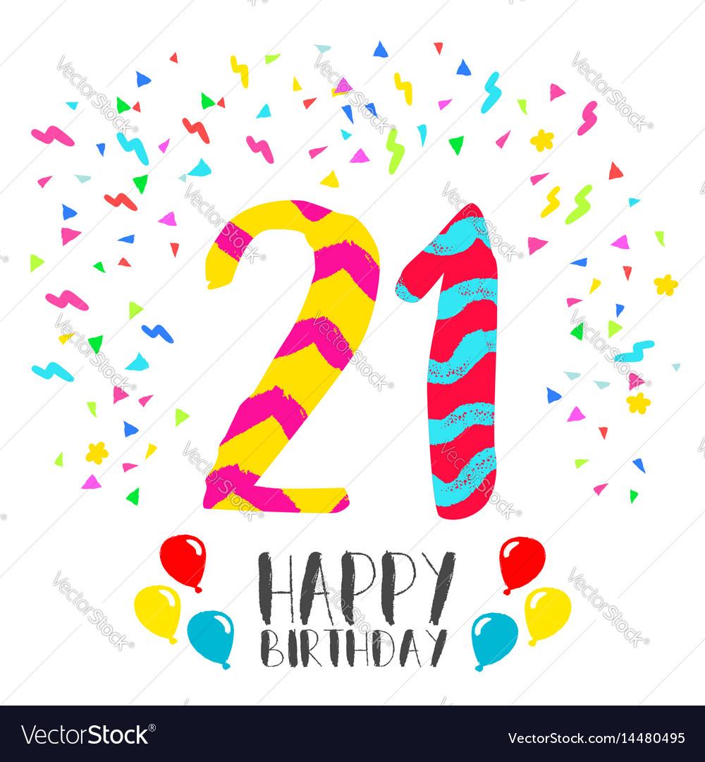 Прикольные поздравления на день рождения 21 год - Поздравок 89