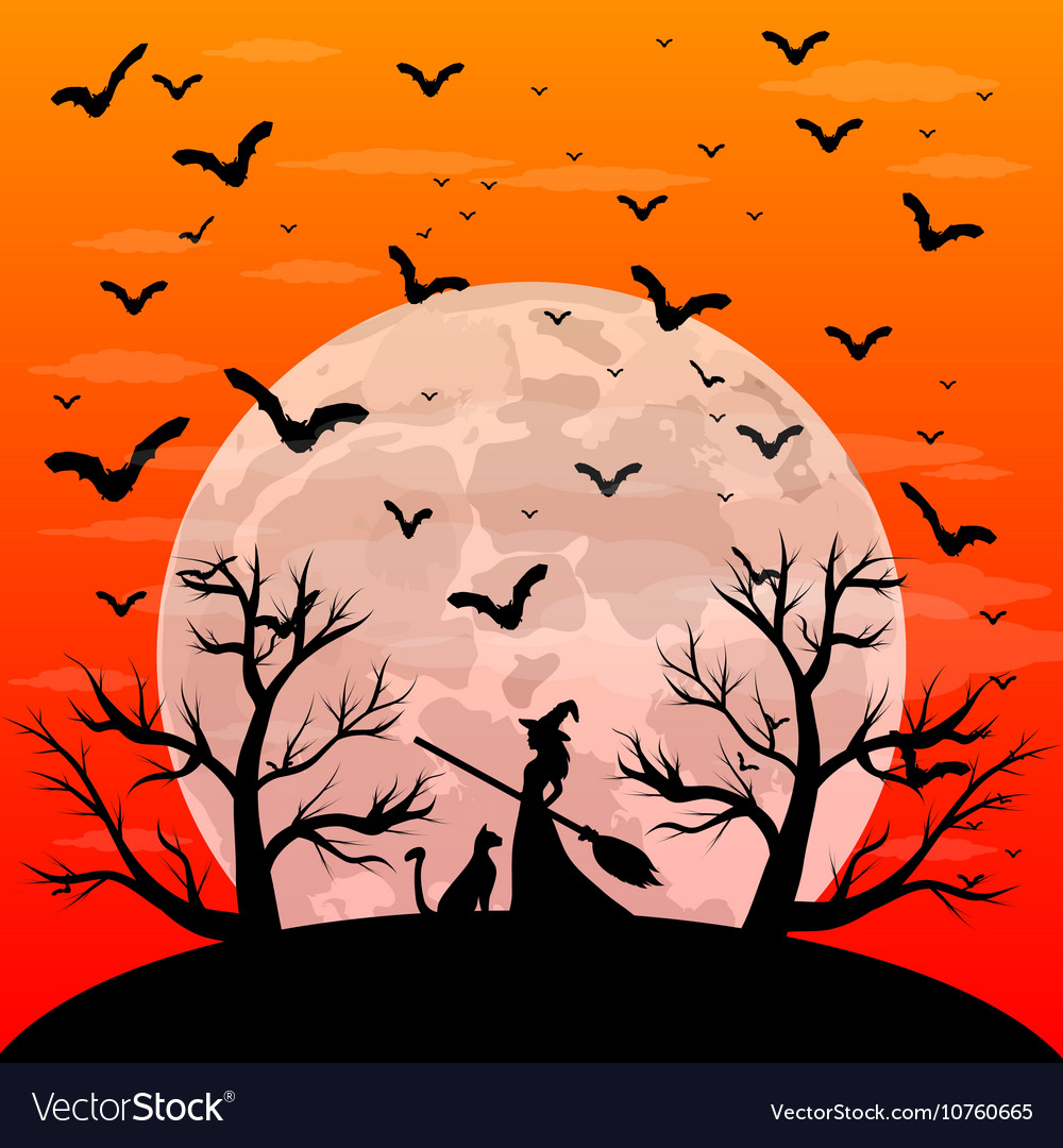 Открытки на хэллоуин рисунок 85