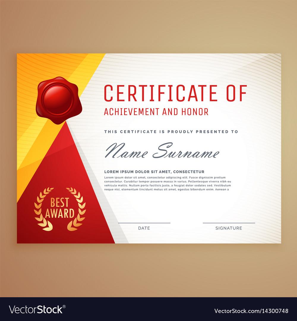 Gartner Certificate Templates