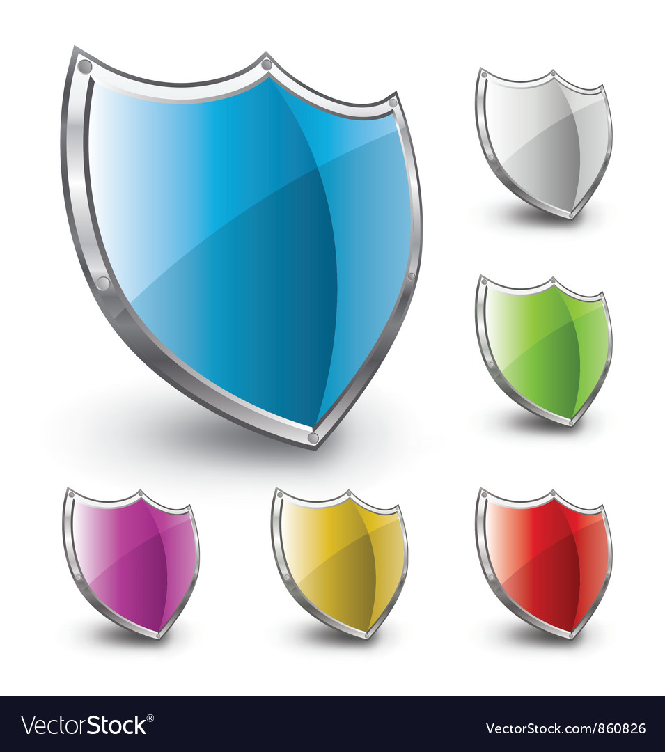 Shield logo  Public domain vectors