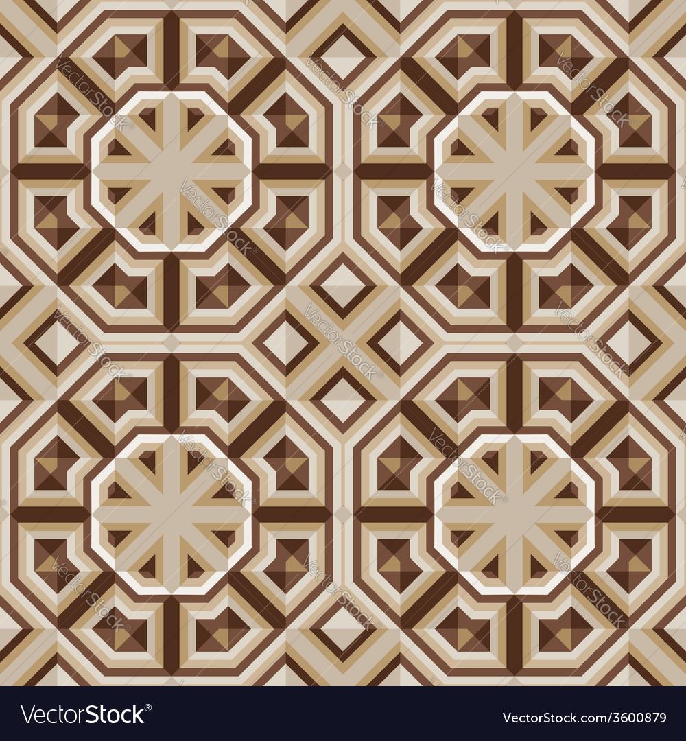 Escher floor tiles