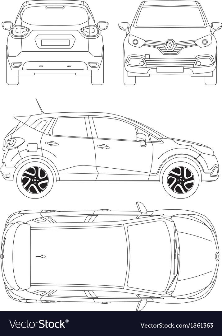 Car vector blueprints free download develop exempt car vector blueprints free download malvernweather Gallery