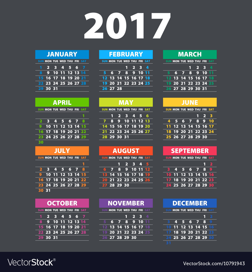 2017 Calendar Templates And Images - dinosauriens.info