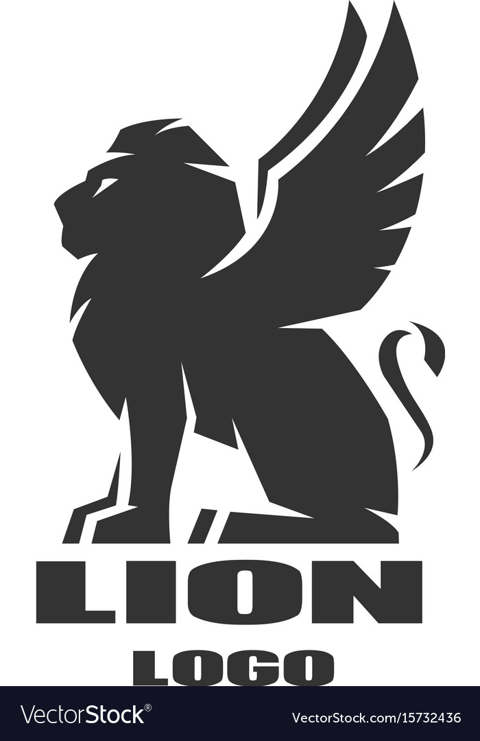 Vector royal lion logo
