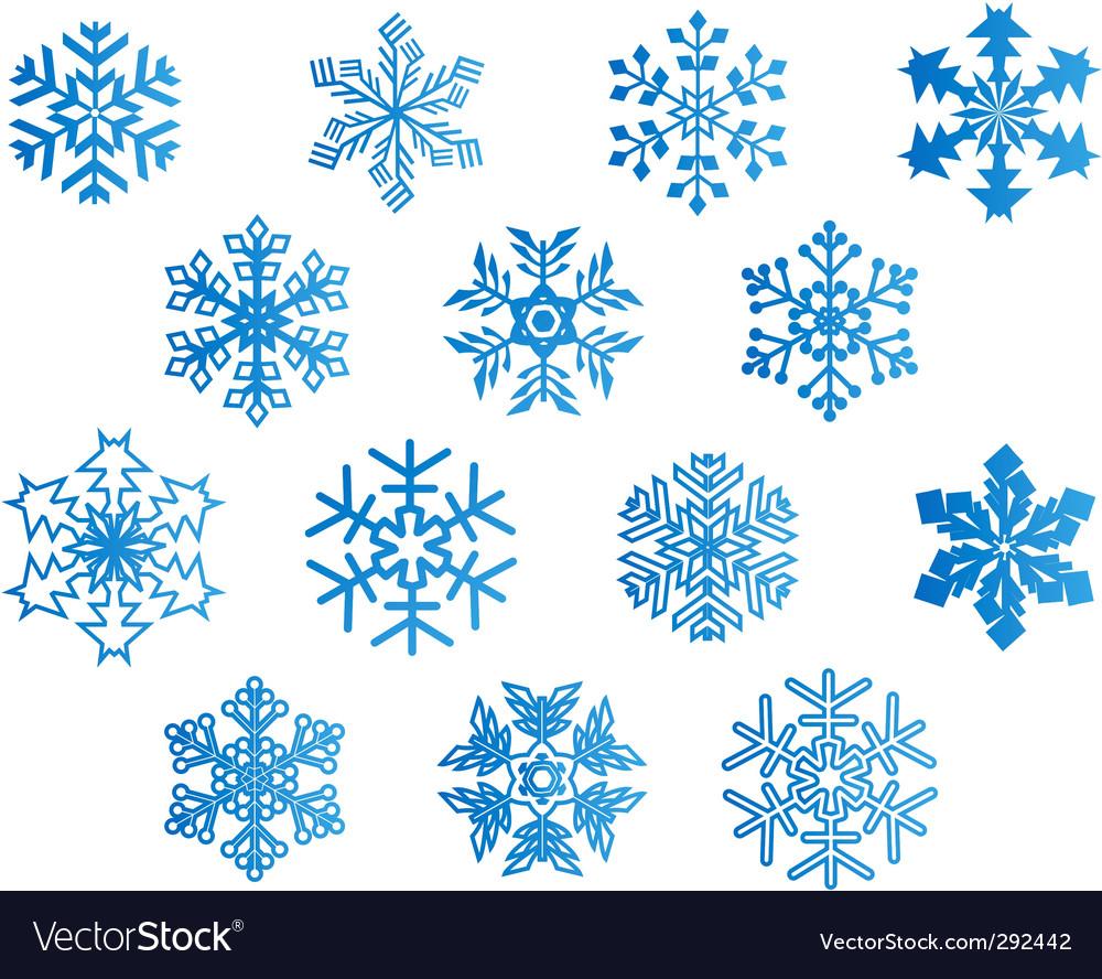 Snowflake vector corel