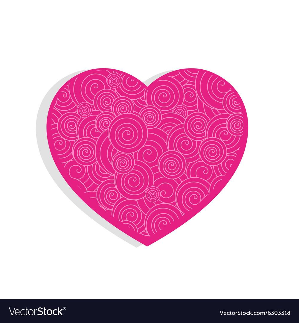 Vector heart cute