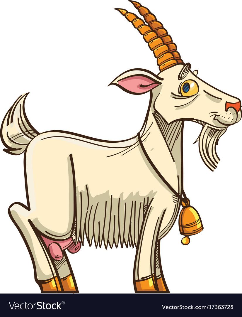 9 Best Goat cartoon images  Goat art Farm Animals Goats