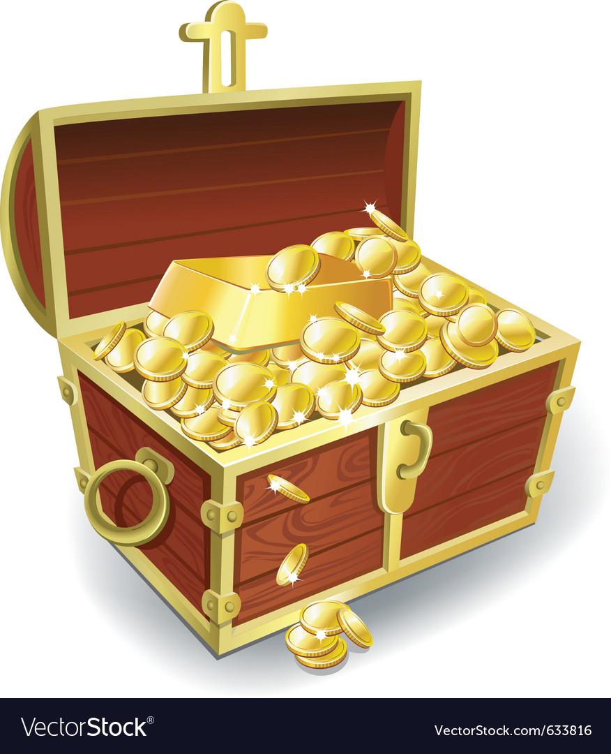 Gold treasure clipart