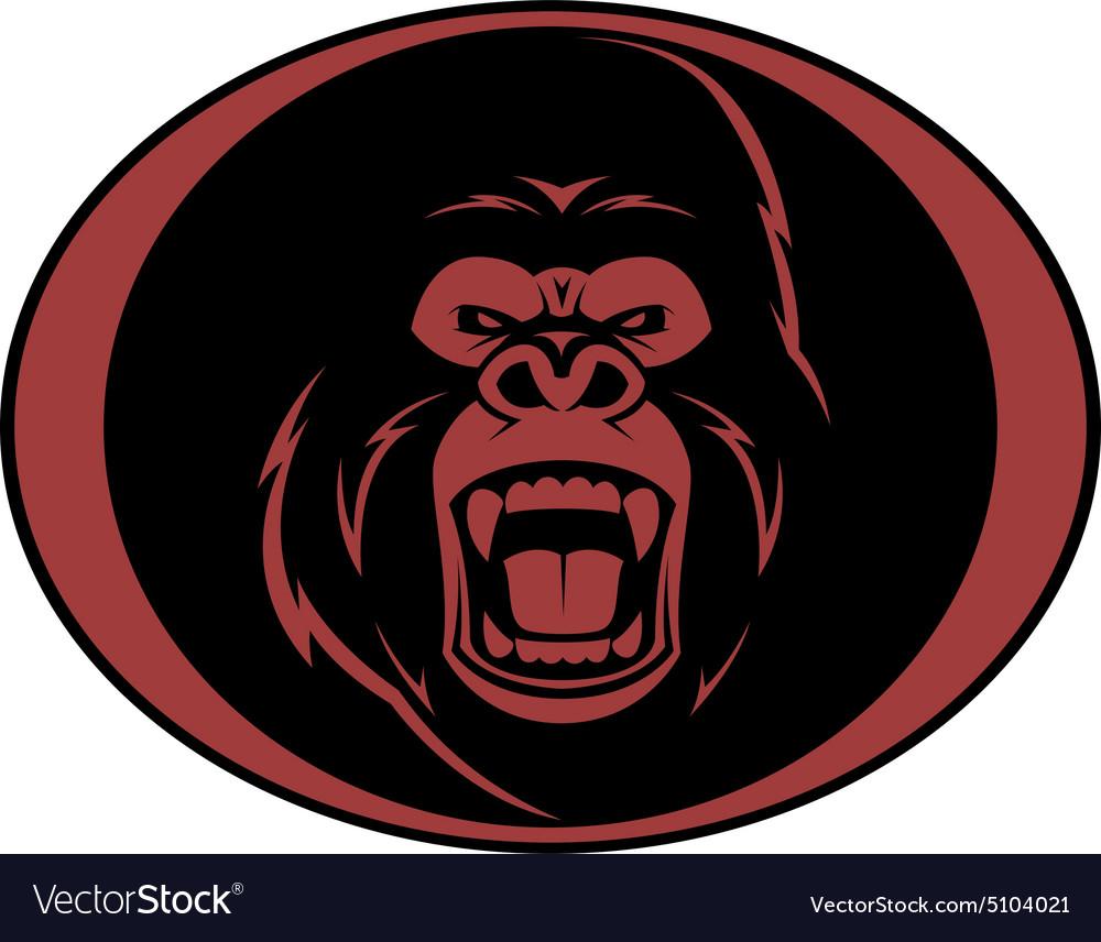 Gorilla Head Stock Illustrations  2757 Gorilla Head
