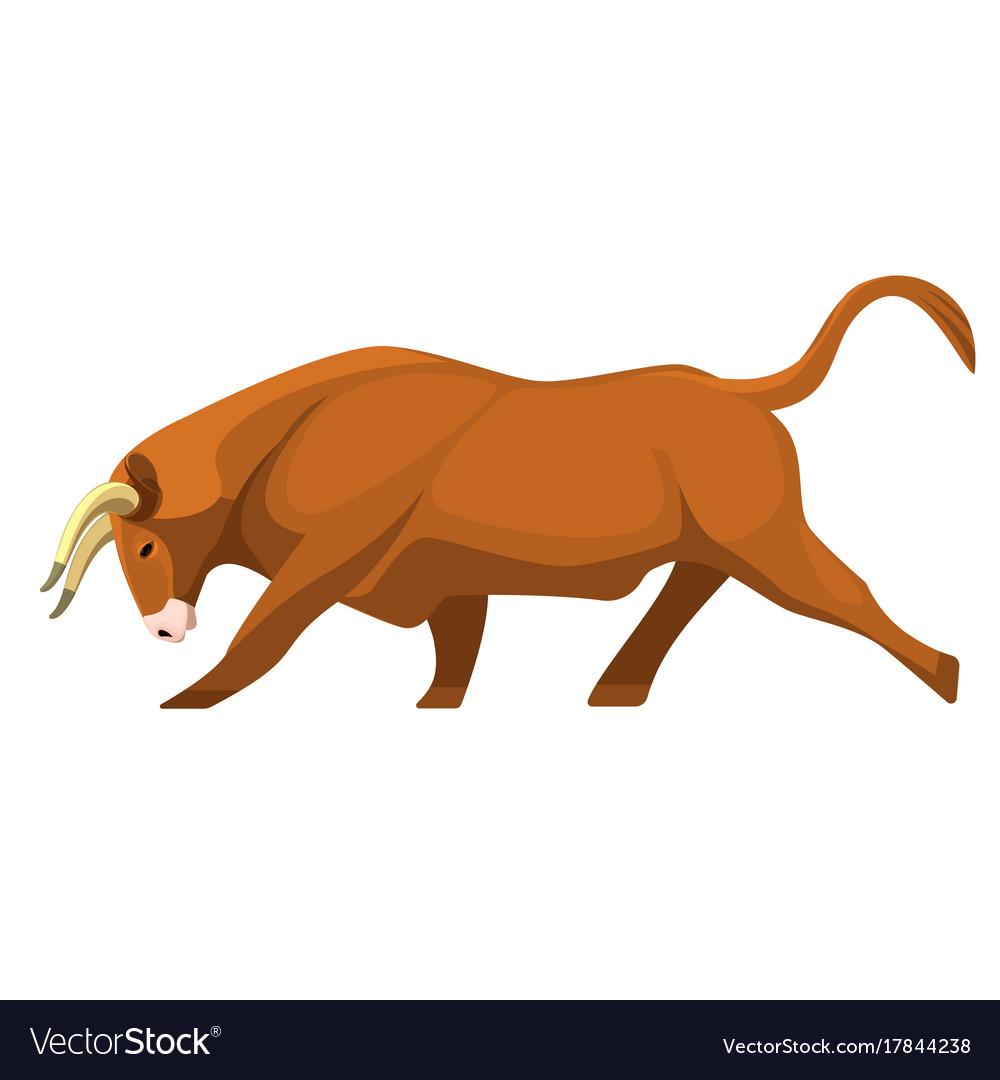 Animal horn vector