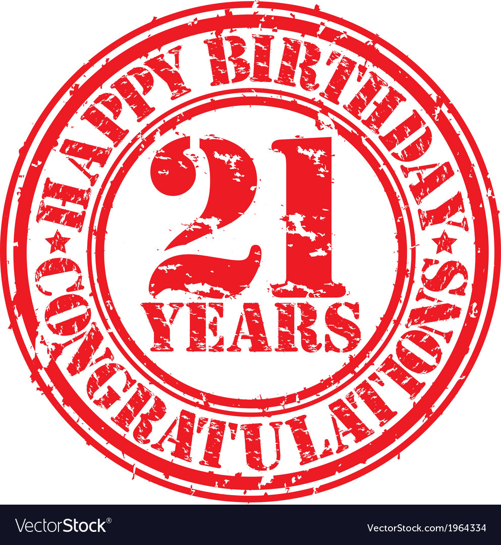Поздравления с днем рождения в 21 год парню
