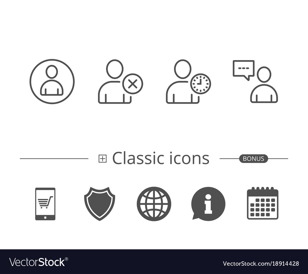 Company profile icon vector