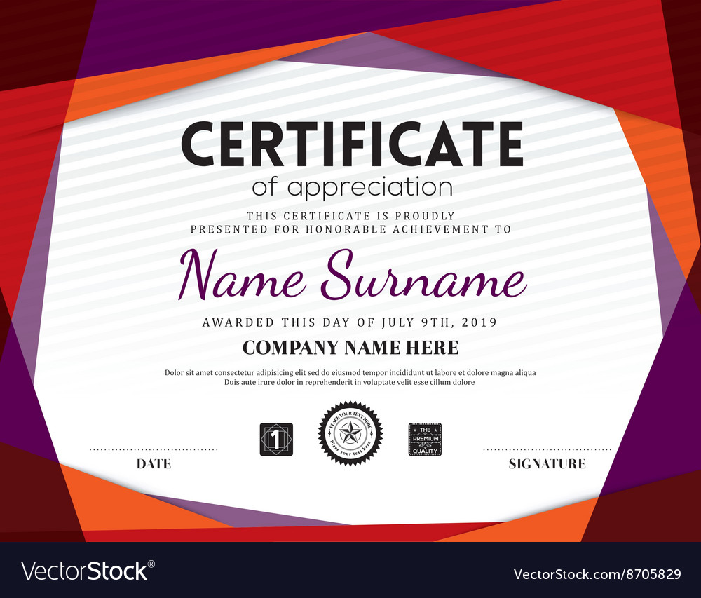 Download Free Certificate Templates