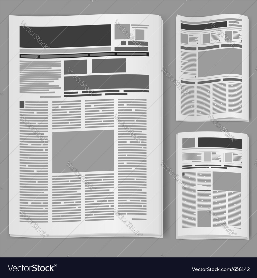 Newspaper Templates For Kids 3883808 Blaulichtreportfo