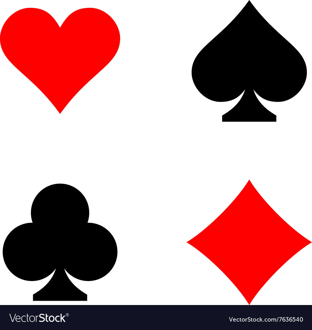 Playing card symbols png