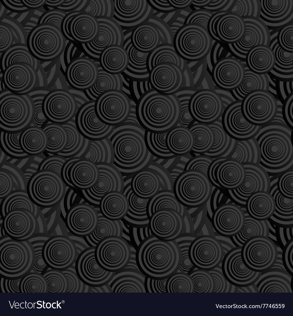 Seamless black pattern background