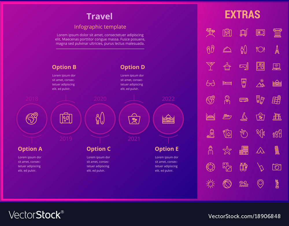 Infographic journey template