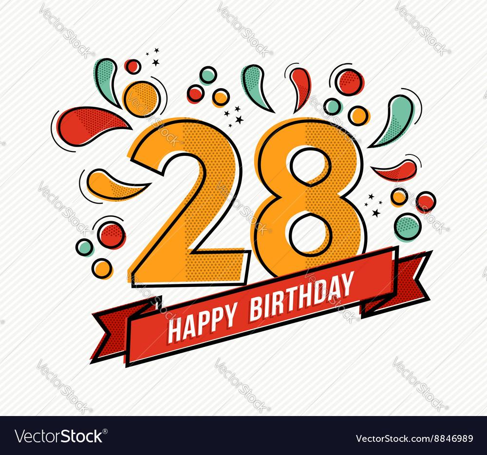 Поздравления с 28 летием с днем рождения 91