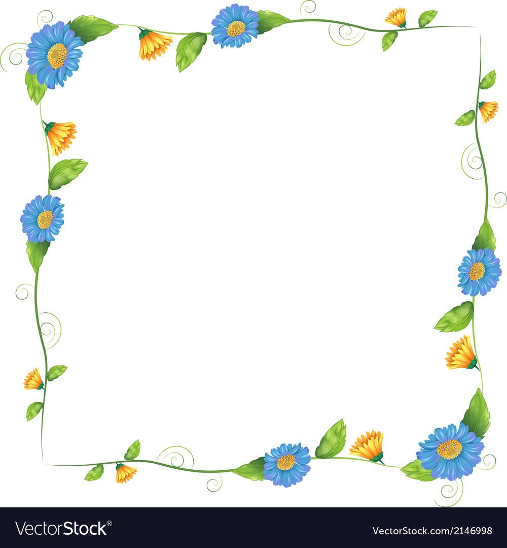 Plant clip art border