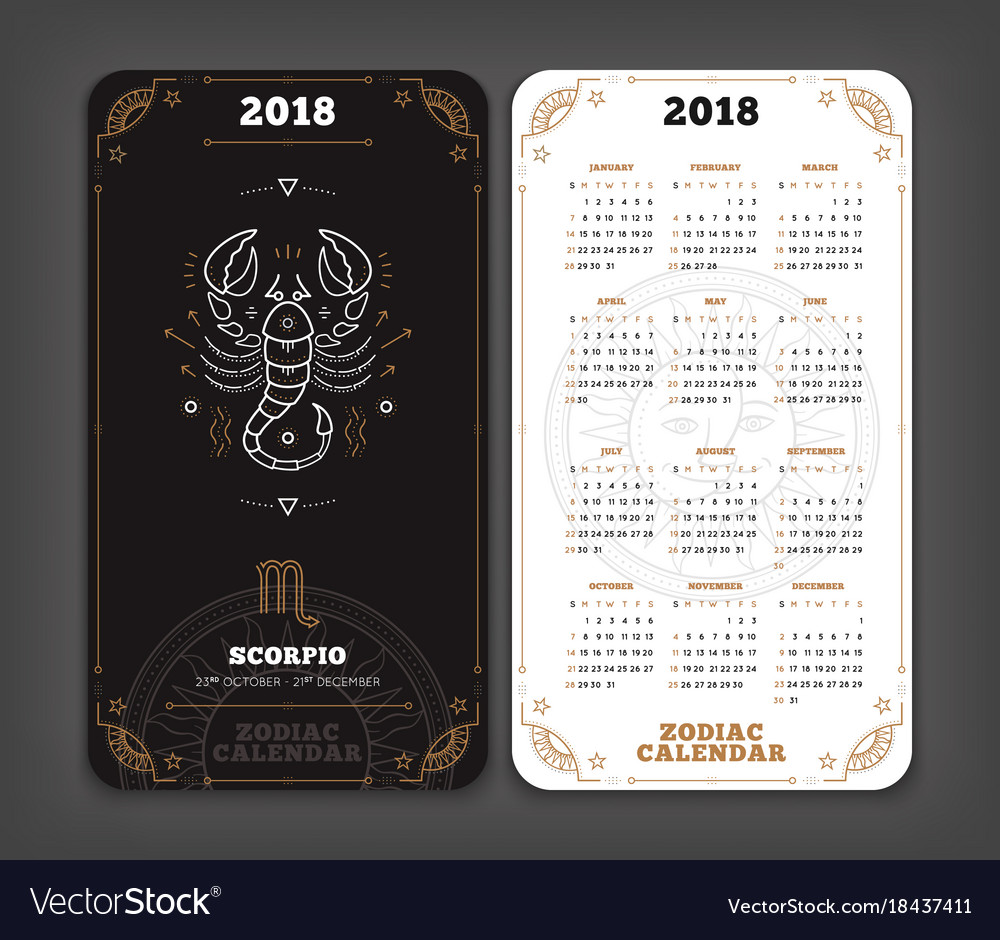 Free horoscope for year 2018