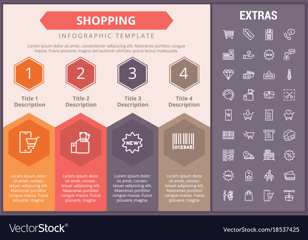 Infographic template shop