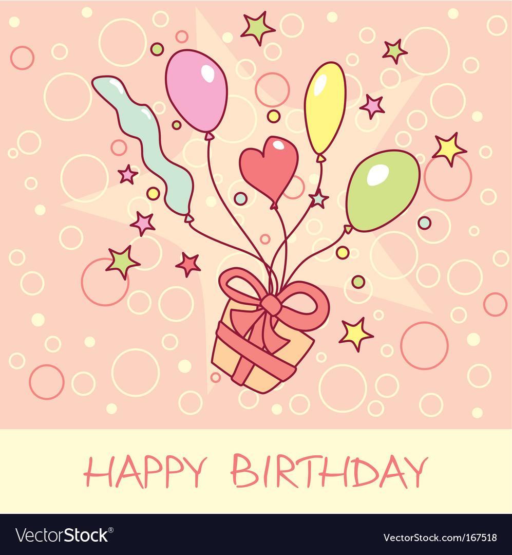Happy birthday открытка 33