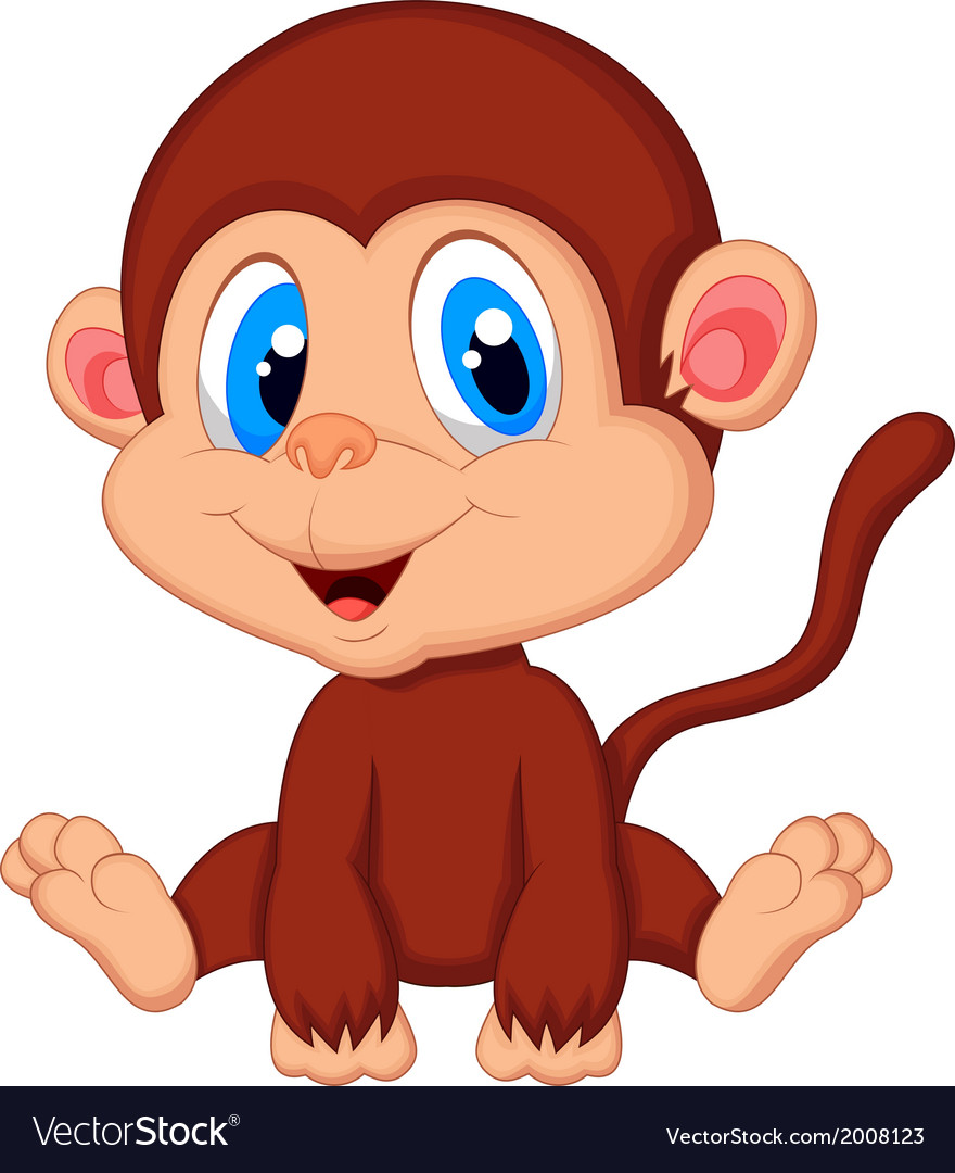 Cute girl cartoon monkey pictures