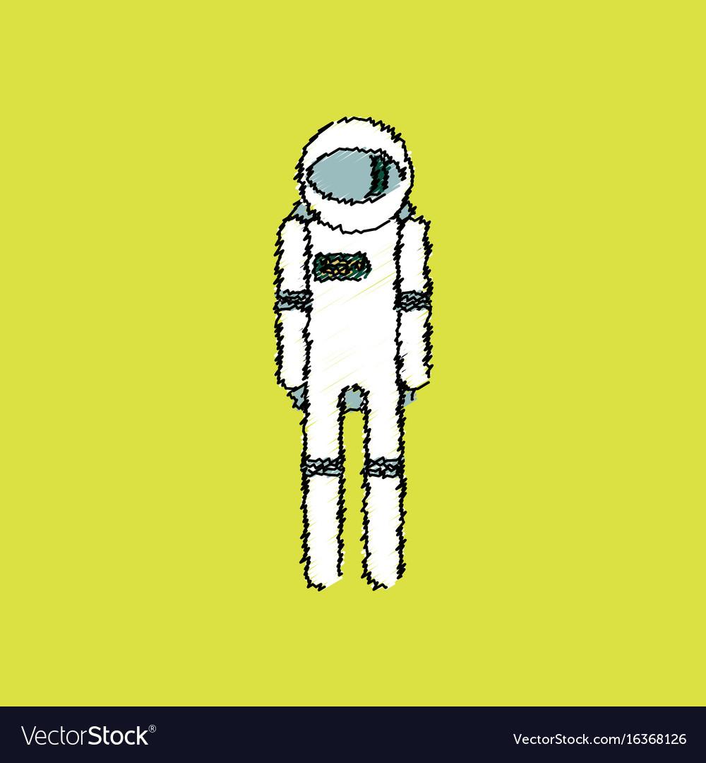 Excellent astronaut vector images