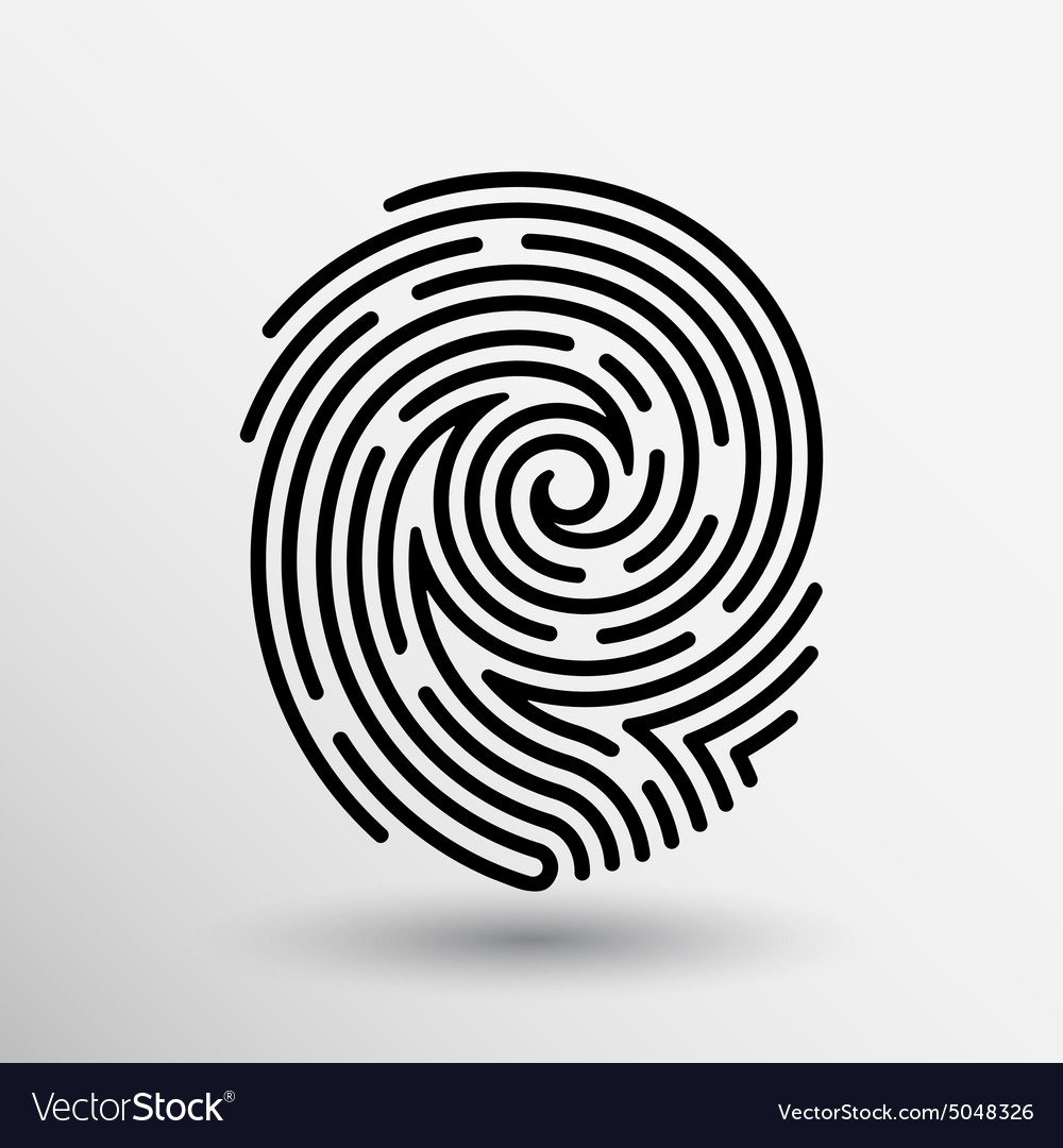 Terrific fingerprint vector photos