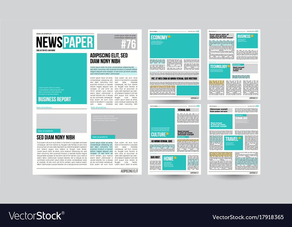 Beautiful Newspaper Ad Templates Images  Example Resume And