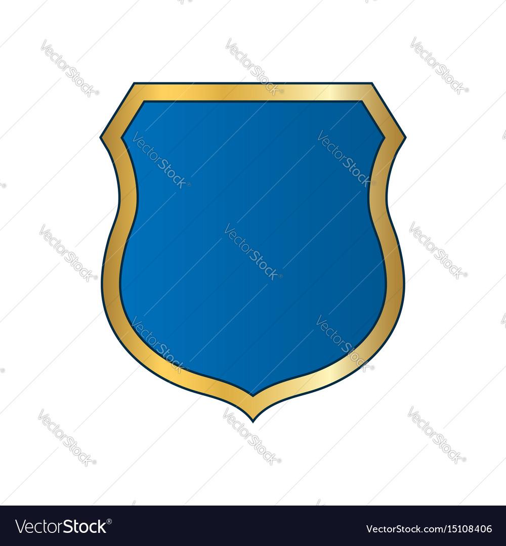Empty Blank Shield  Stock Vector  CD123 6365194