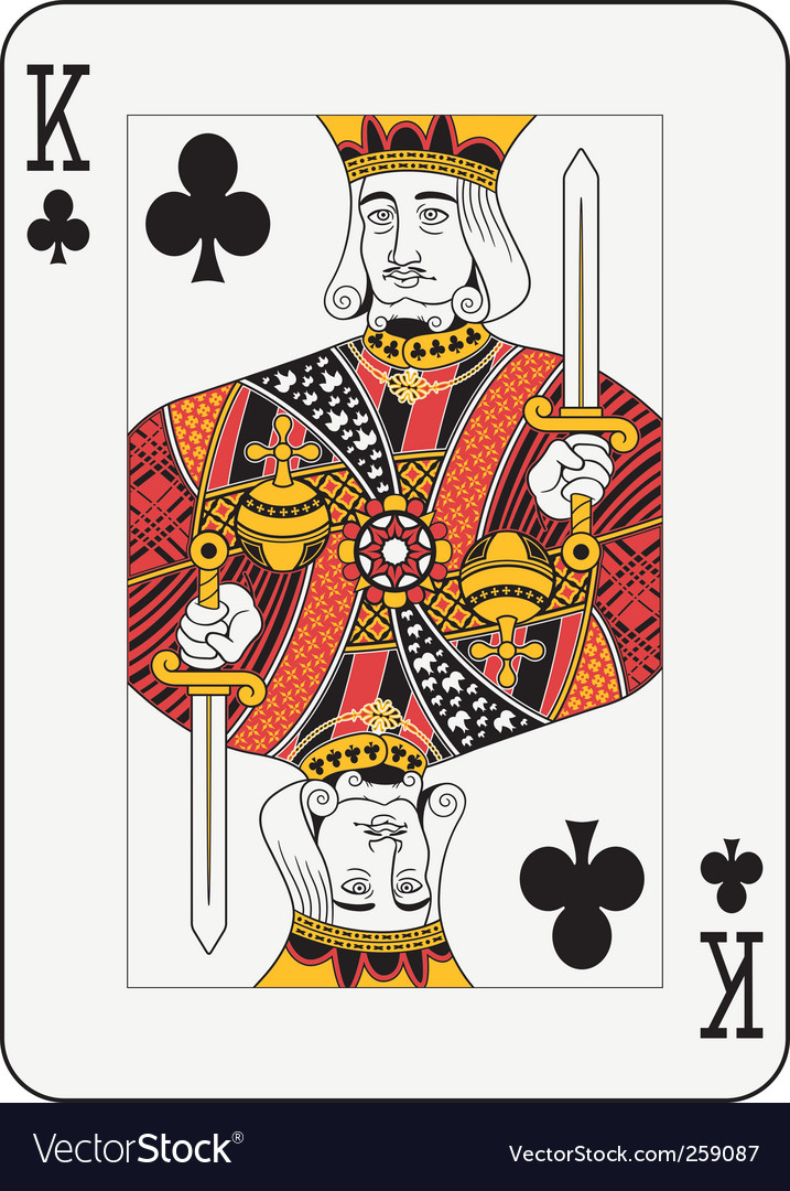 King card vector
