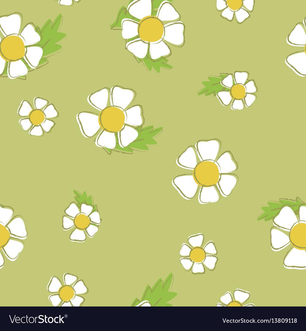 Daisy pattern background