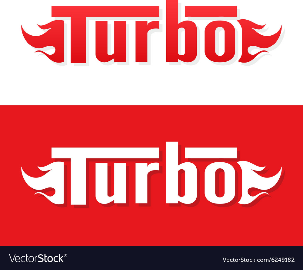 Turbo logo design