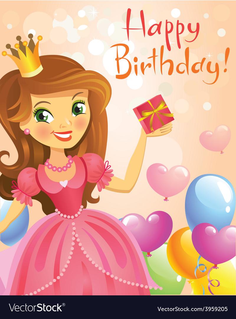 Отправить открытку на день рождения девочке