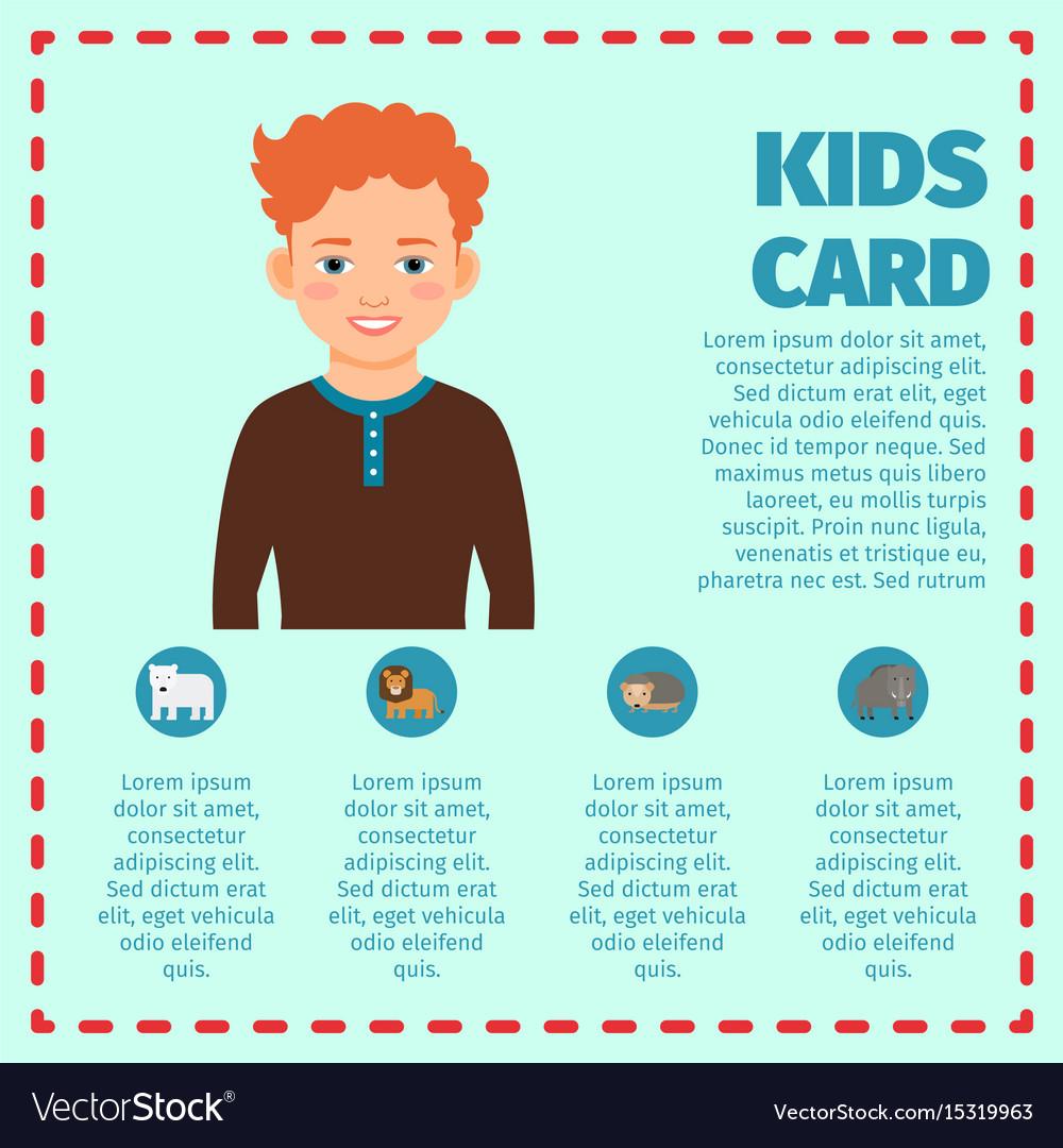 Kids infographic pdf
