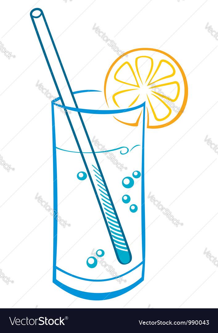 Fresh drink vector
