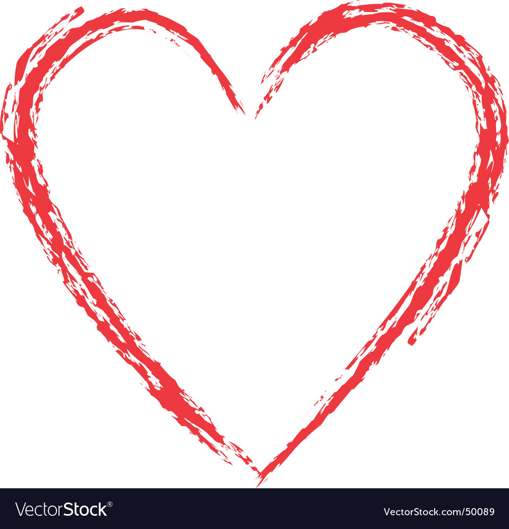 Images: Free Grunge Heart Vector