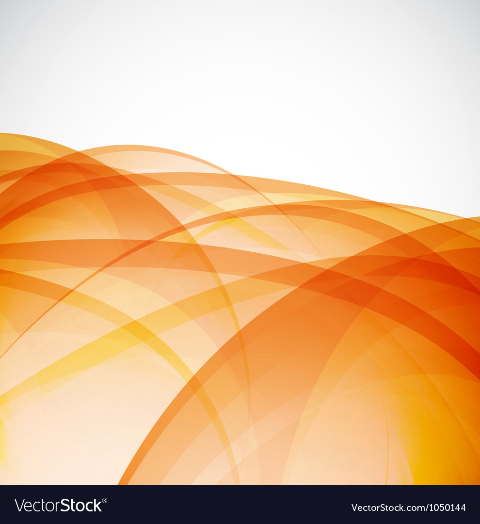 Sunshine orange background vector