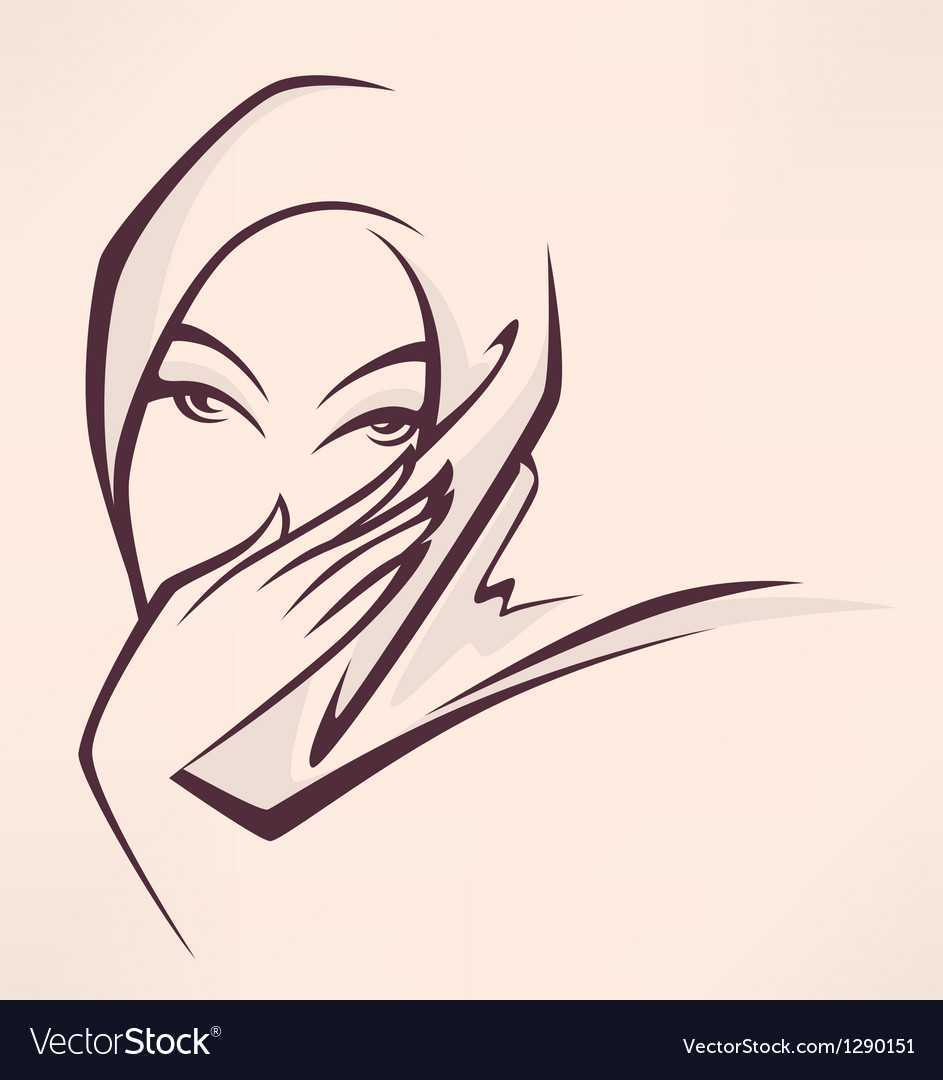 Arabian beauty vector