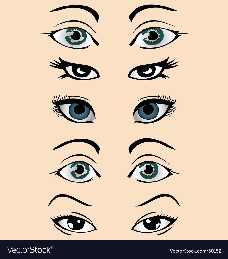 Eyes vector