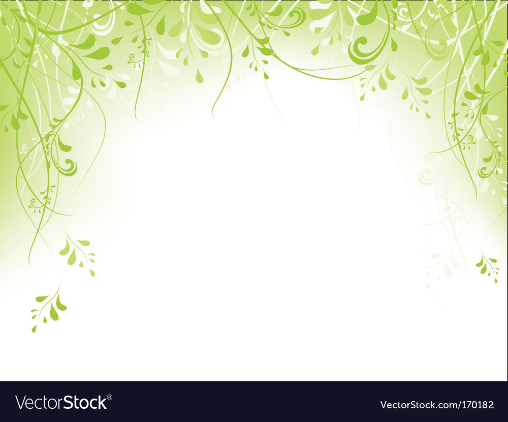 green frame vector by srnr image 170182 vectorstock