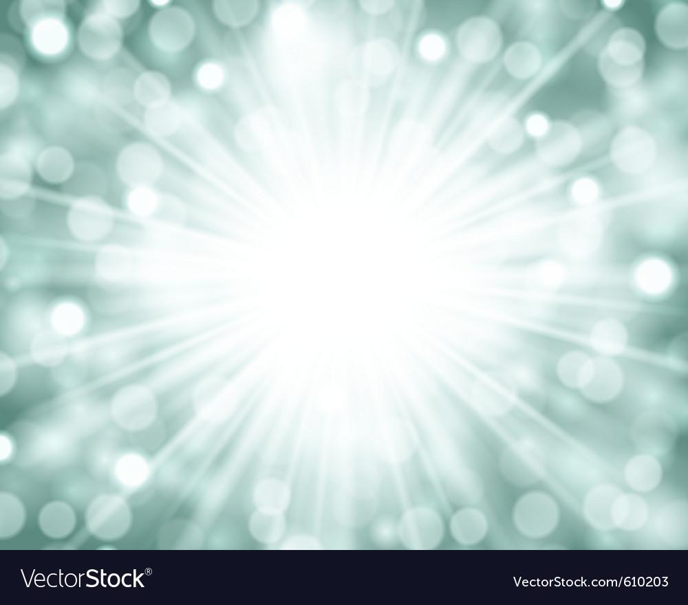Lens flare light vector