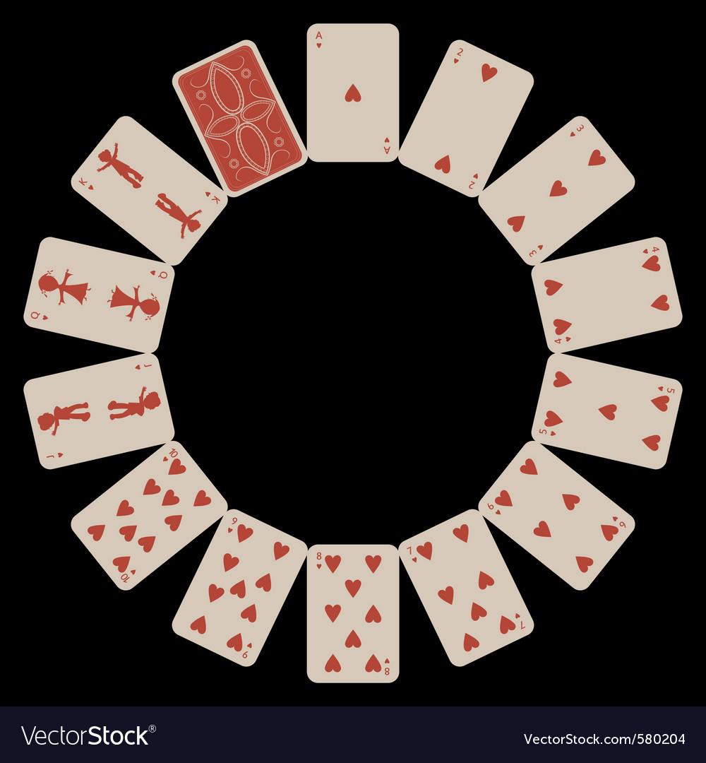 Circle shapes vector