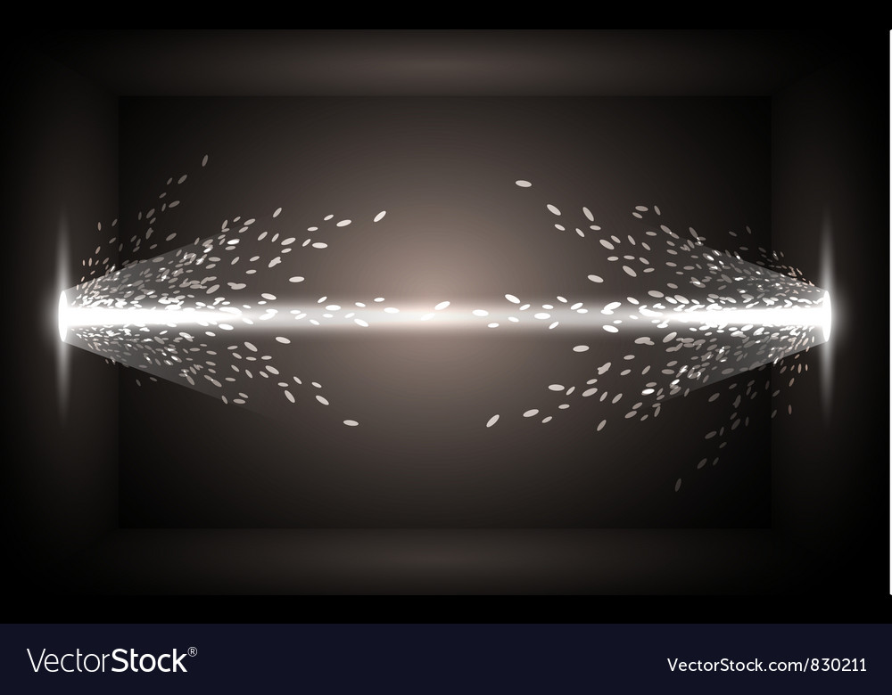 Abstract background - the energy flows vector