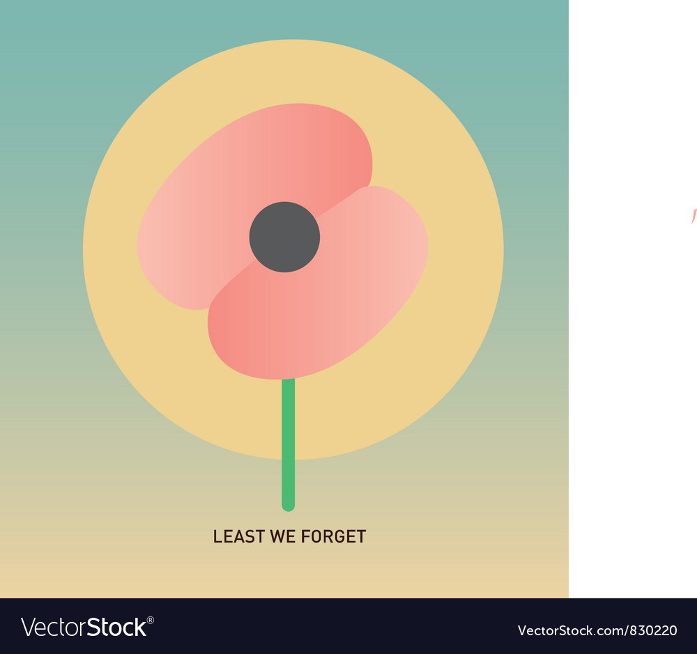 Free anzac day vector