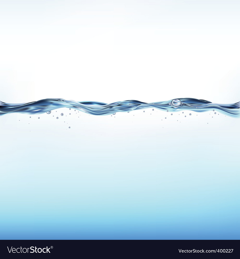 Waterscape vector